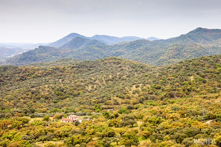 Paisaje de la Sierra de Aracena