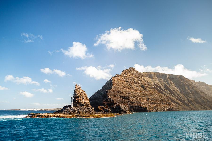 Punta Fariones vista desde el barco