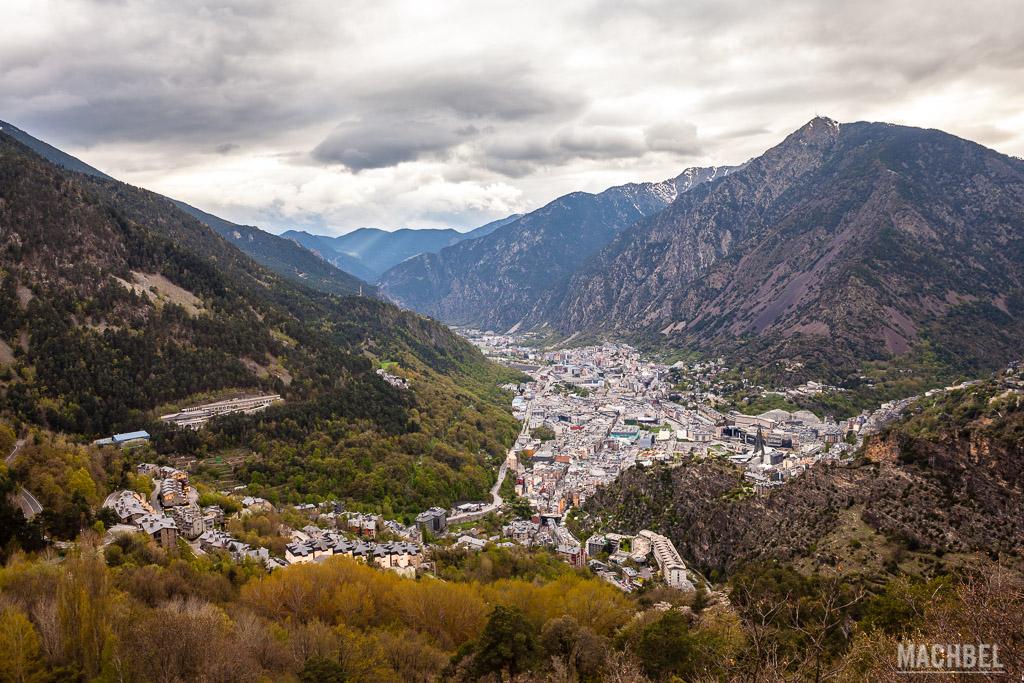 Vista del valle de Andorra