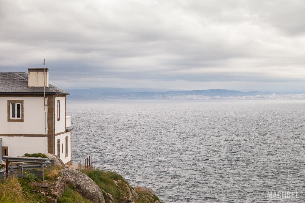 A Coruña desde Cabo Prioriño