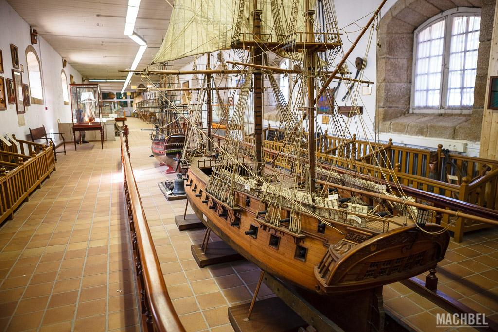 Barcos del museo Naval de Ferrol