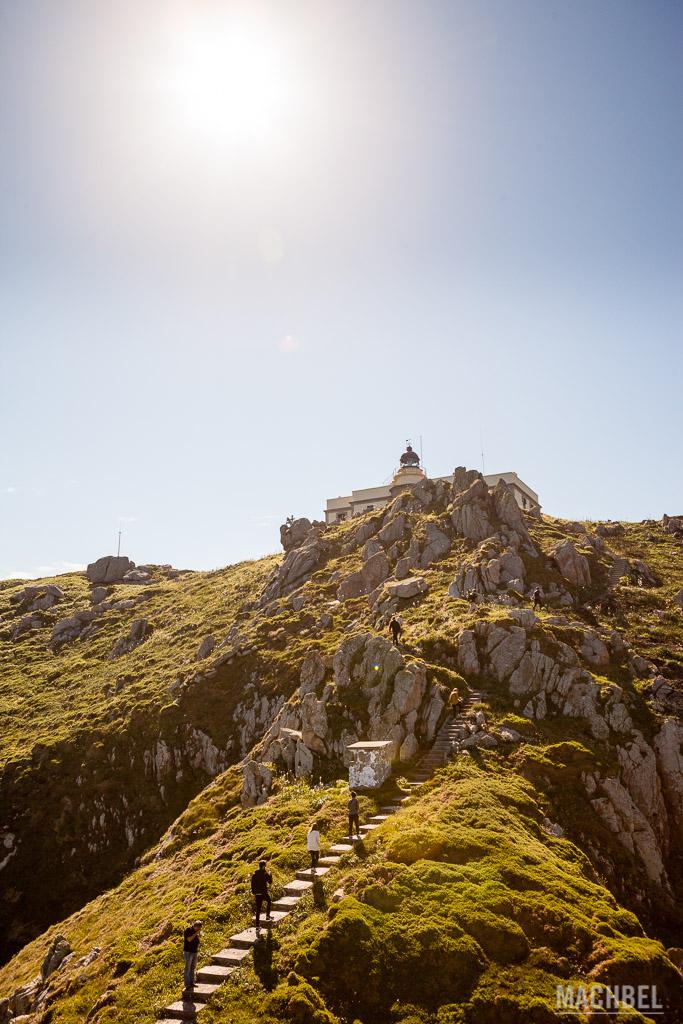 Cabo Prior y su escalera