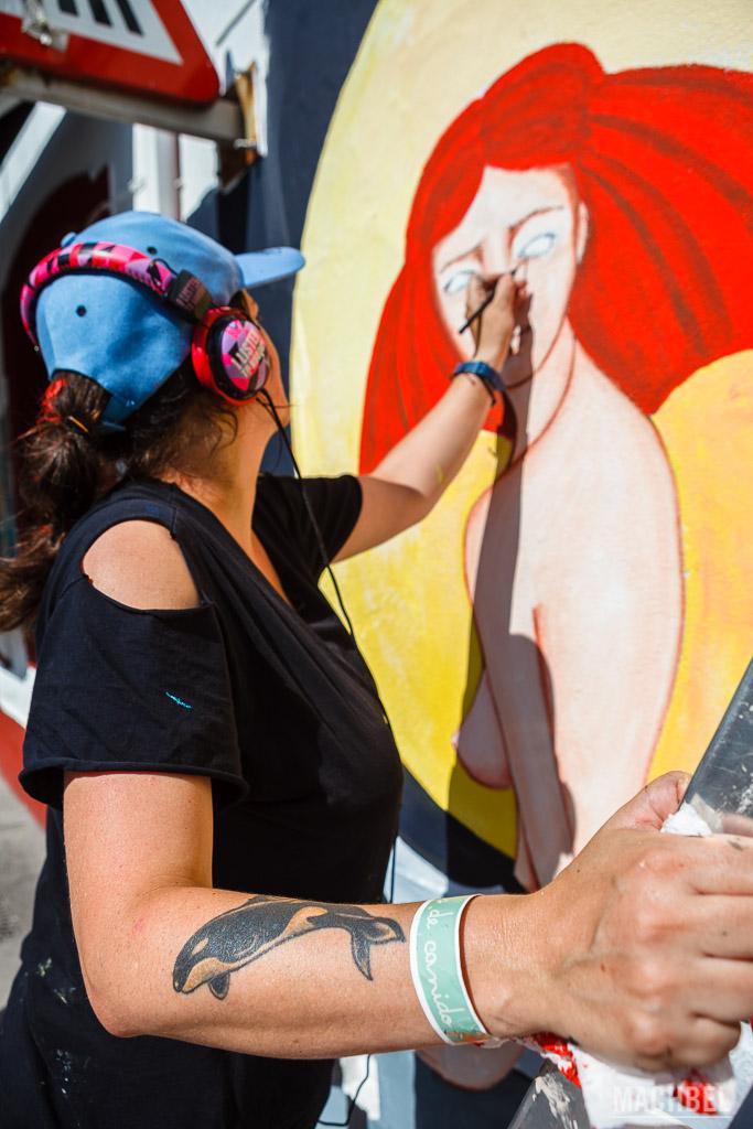 Pintando una menina
