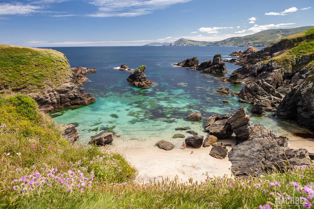 Playa de la costa de Ferrol