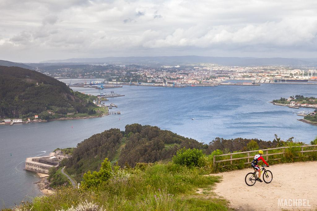 Ría de Ferrol desde A Bailadora