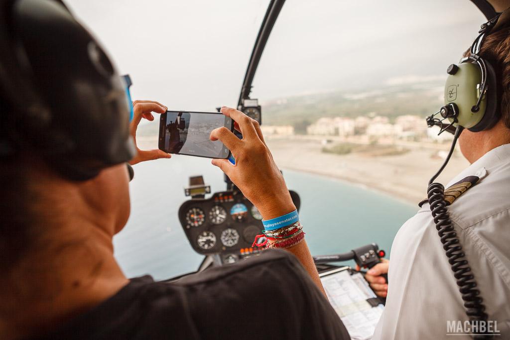 Volando en el Tropicopter