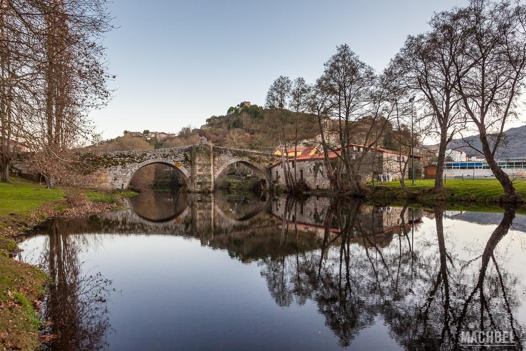Puente Romano de Allariz sobre el río Arnoia