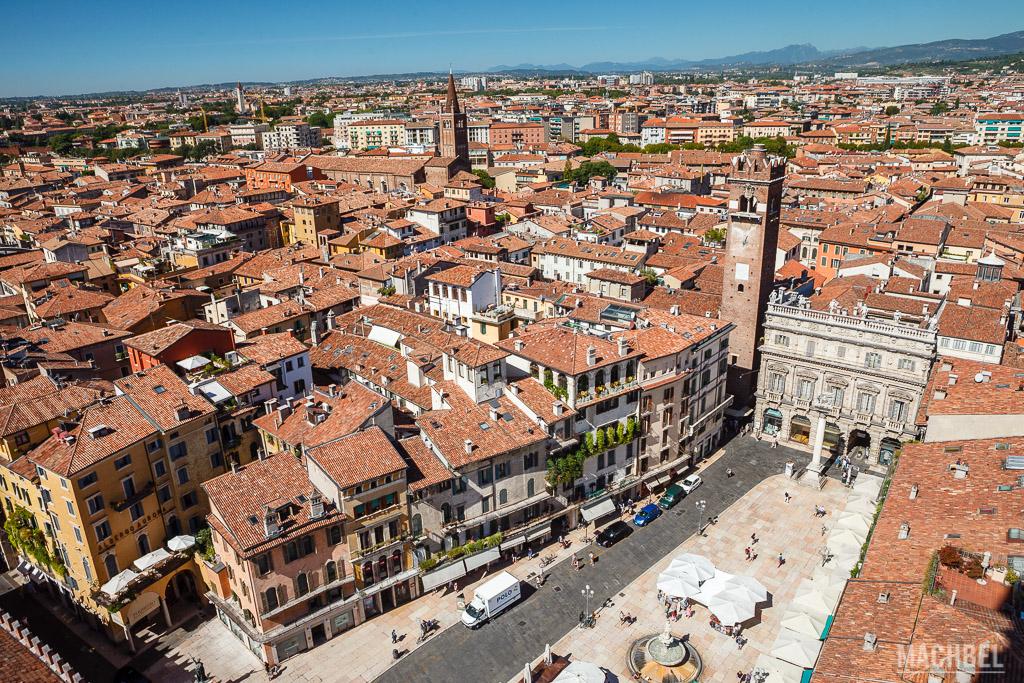 Vistas desde Torre dei Lamberti