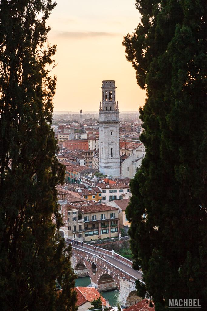 Vistas desde el Castel S. Pietro