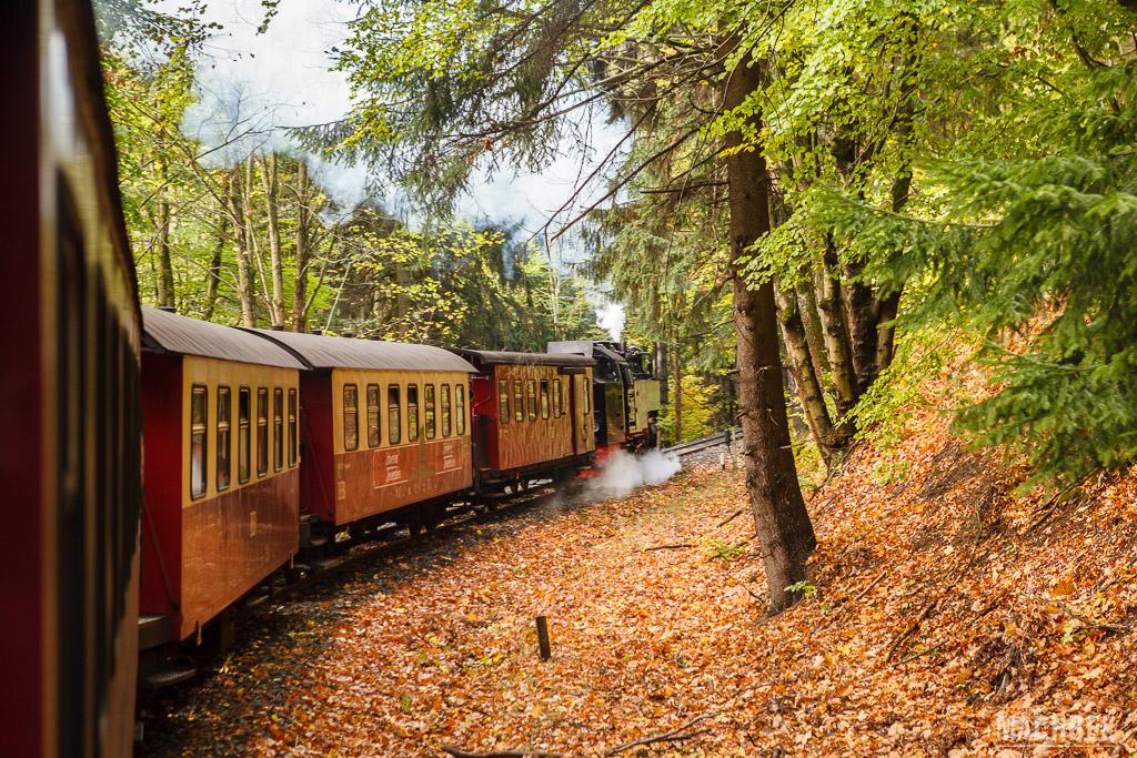 Brockenbhan, el tren a vapor