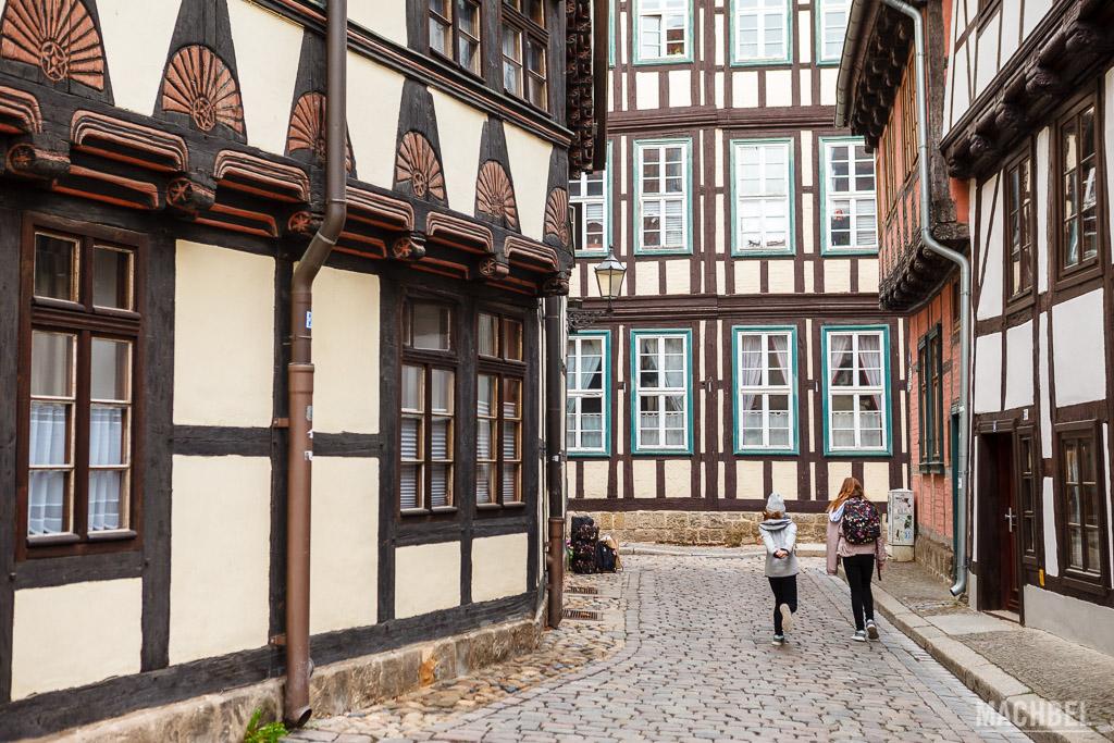 Casas de madera de Quedlinburg