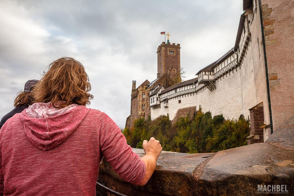 Entrada al Castillo de Wartburg