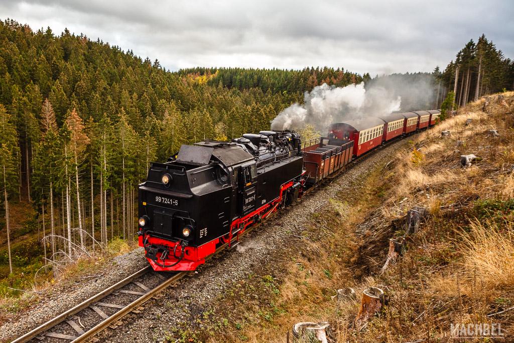 Tren a vapor BrockenBahn