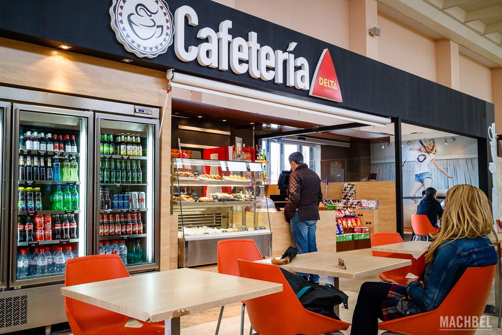 Cafetería de aeropuerto
