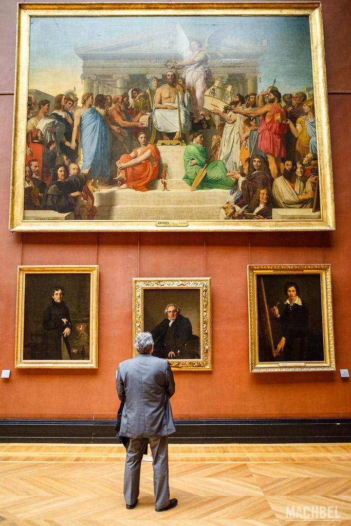 Cuadros del Louvre
