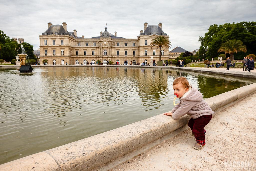 Estanque del Jardin du Luxembourg