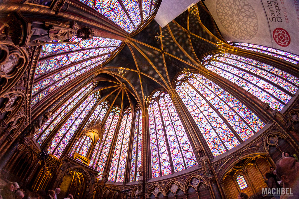Interior de la Sainte Chapelle