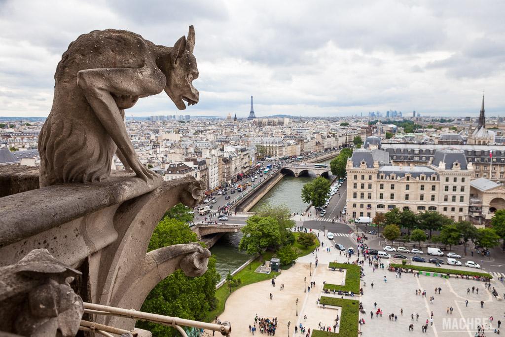 Quimera vigilando París