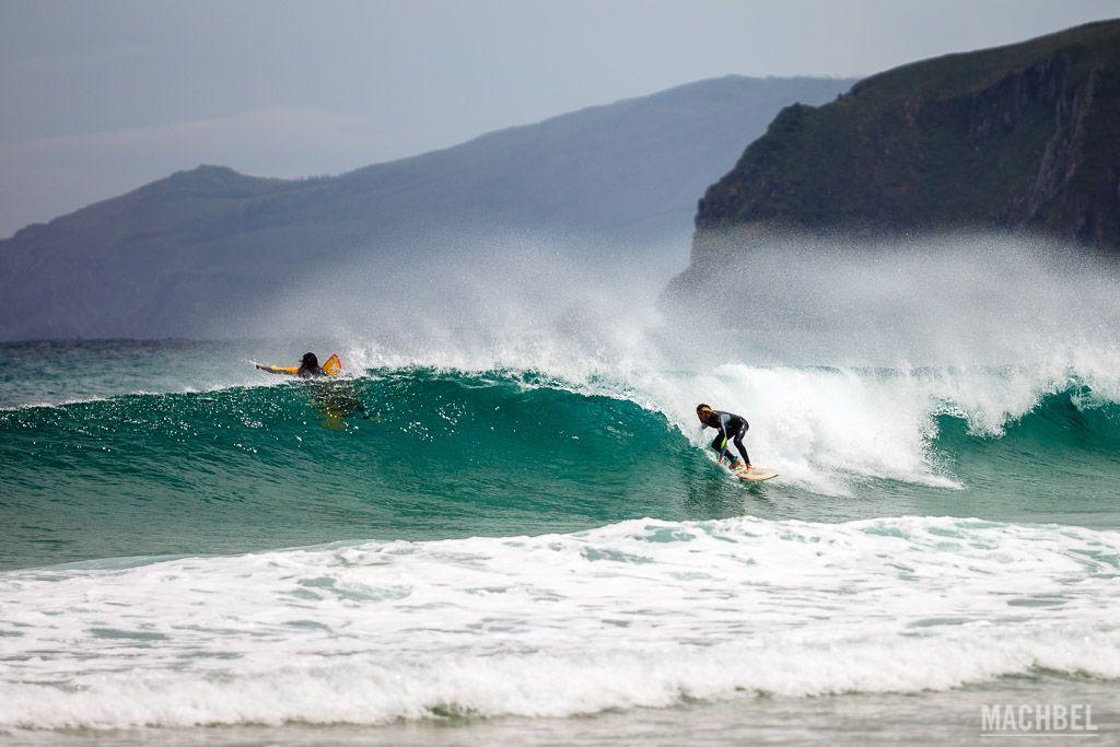 Surfeando en Valdoviño