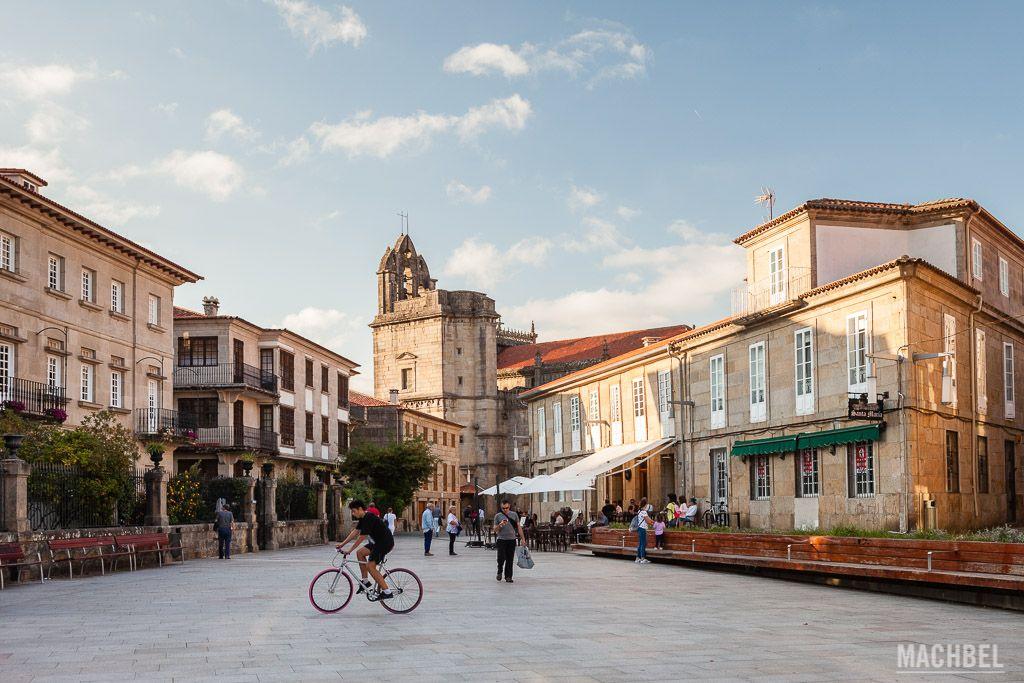 Plaza de Santa María de Pontevedra