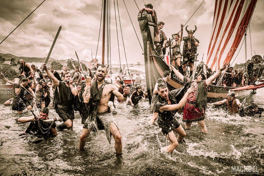 Desembarco Vikingo de Catoira