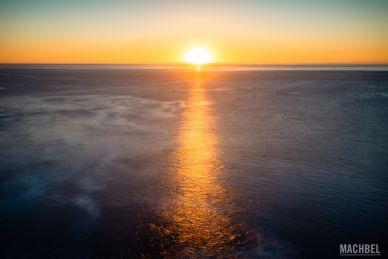 Un atardecer en Fuerteventura o en cualquier lugar del mar