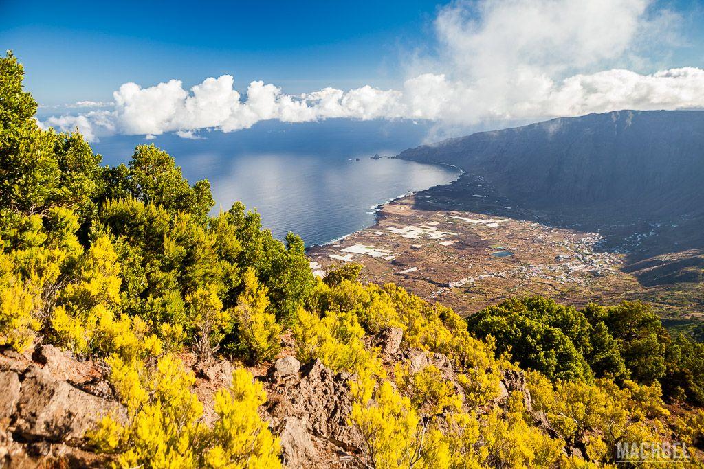 Paisaje de la isla de El Hierro