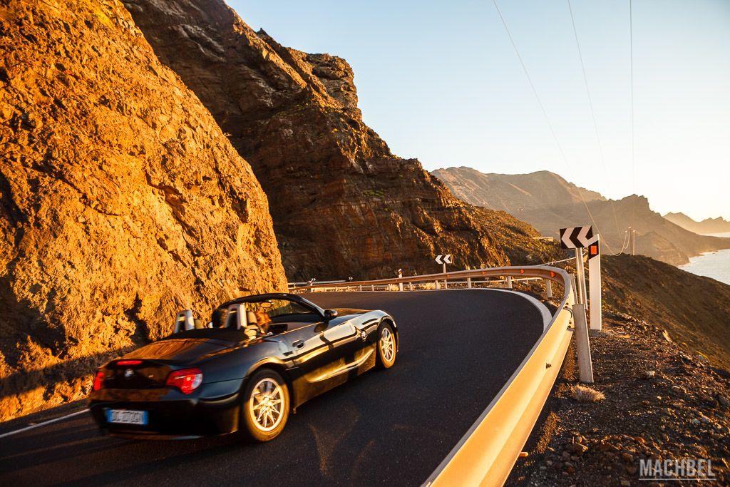 Recorriendo Gran Canaria en coche por los acantilados