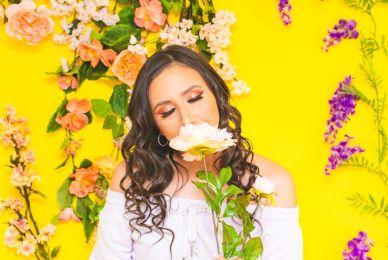 El rico olor de las flores