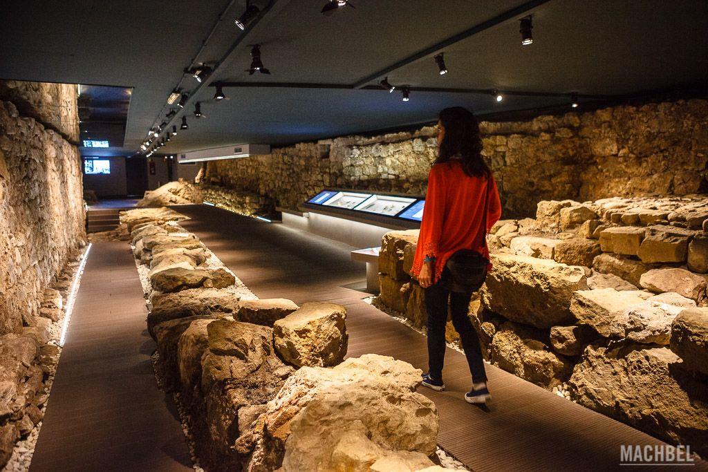 Visita a la muralla de Santander