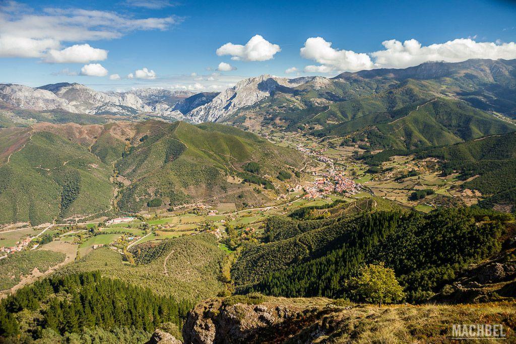Vista del valle de Potes
