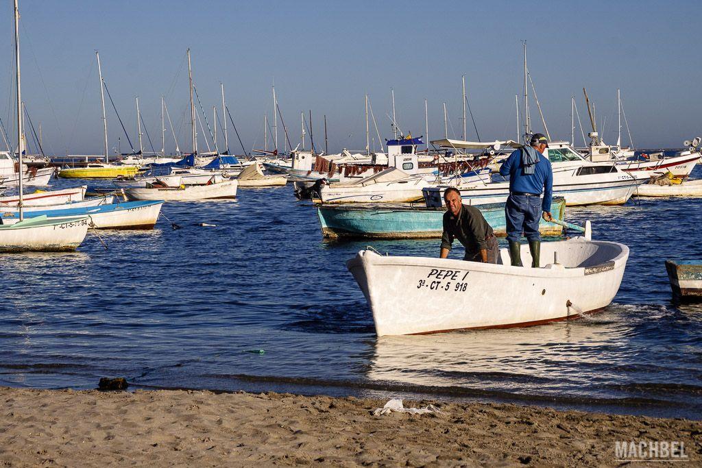 Puerto pesquero en San Pedro del Pinatar
