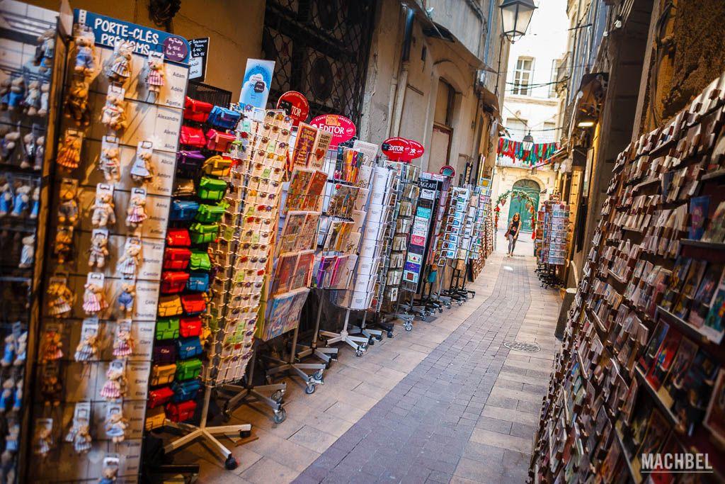 Calle de las postales de Montpellier