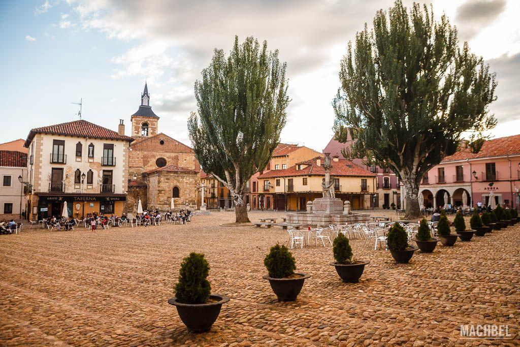 Plaza del Grano en León