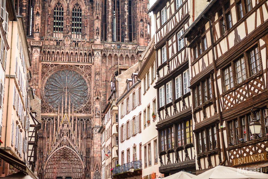 Catedral de Estrasburgo y edificios