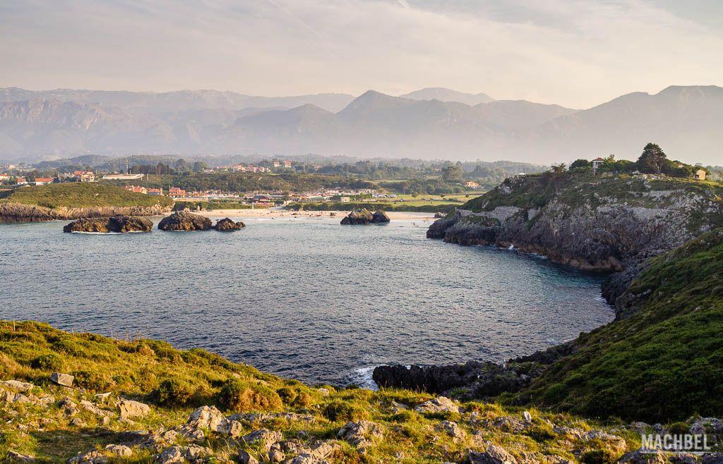 Costa de la playa de Borizo