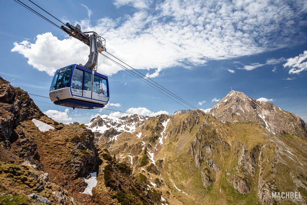 Ascensión al Pic du Midi en teleférico