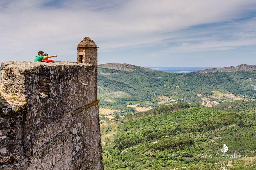 Vistas desde la muralla de Marvâo