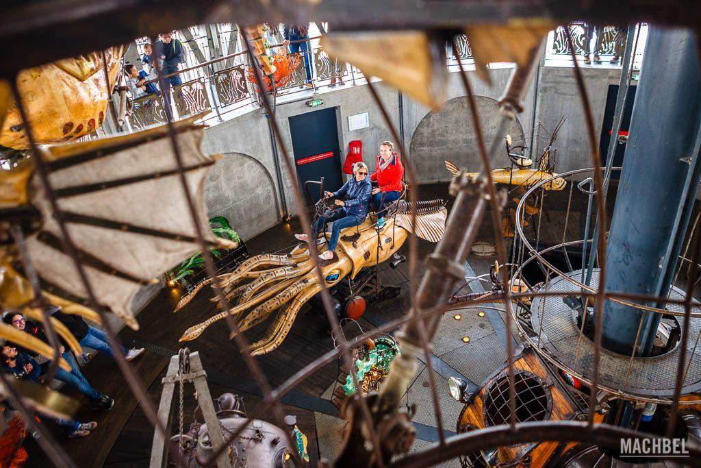 Carrusel del fondo marino