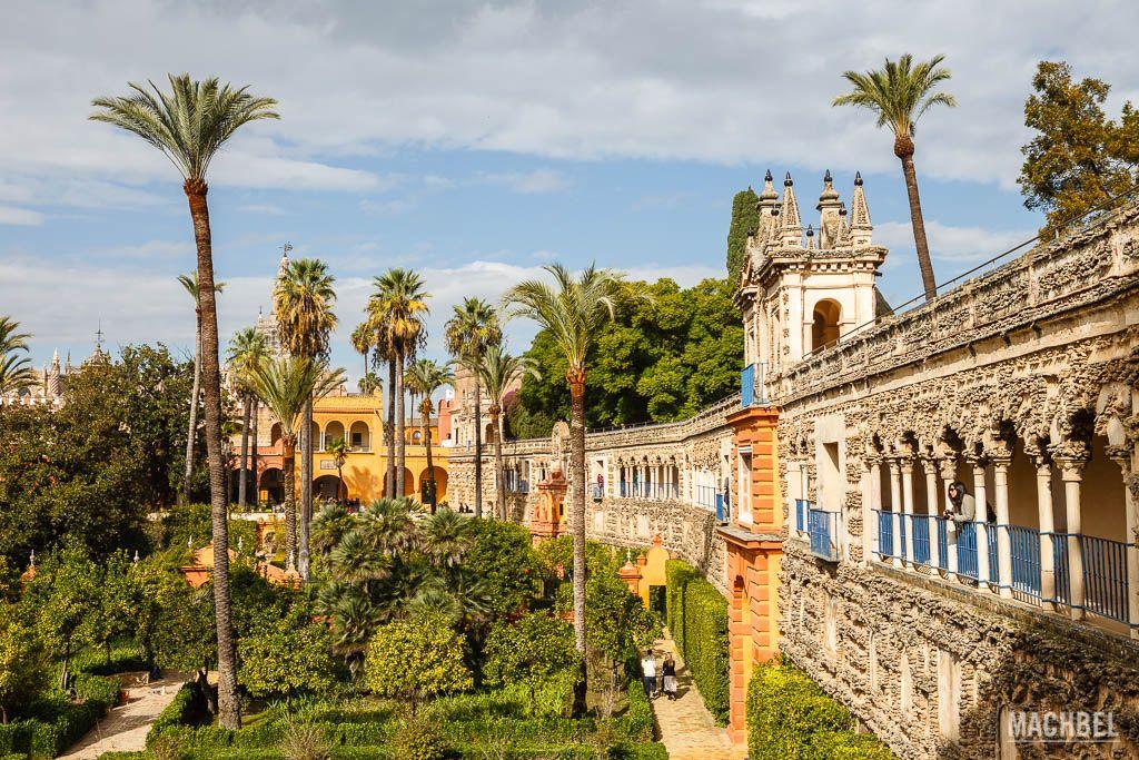 El Alcázar real de Sevilla