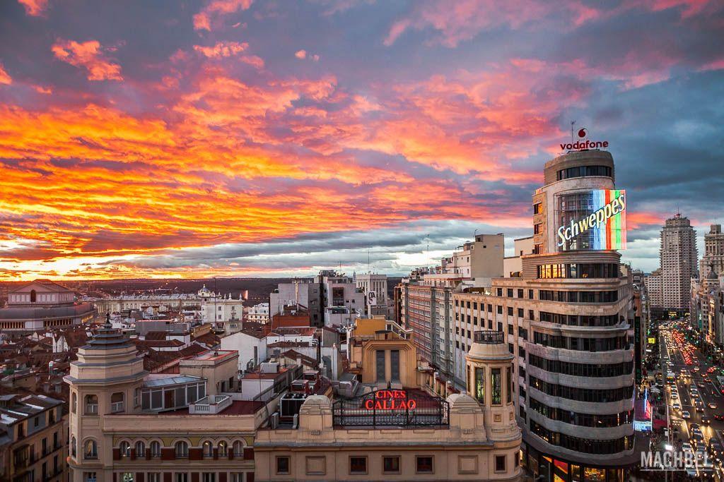 Escenario en Madrid de El día de la Bestia