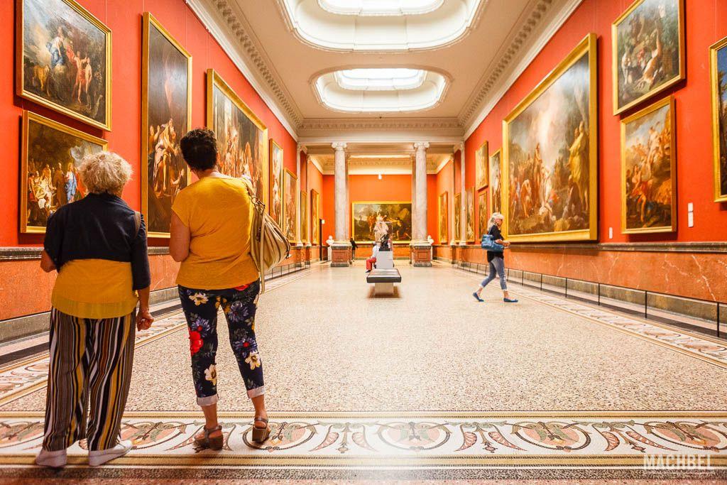 Galería de las columnas