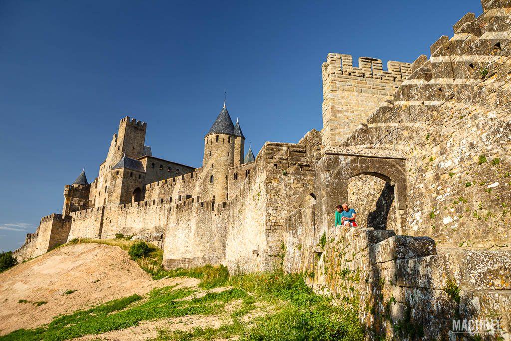 Puerta del Aude a la ciudadela