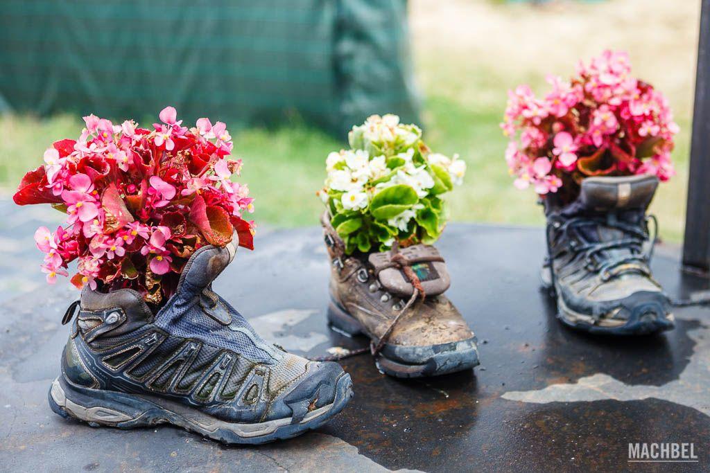 Reciclaje de botas