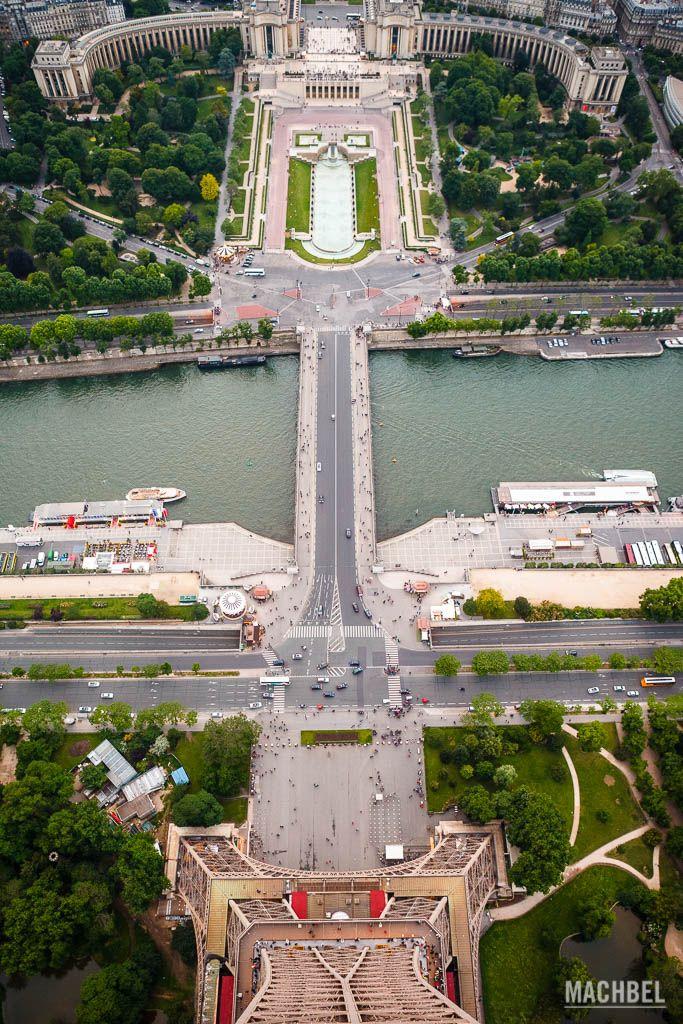 El río Sena desde lo alto de la torre