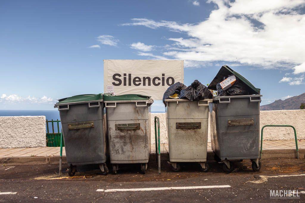 Silencio, basura