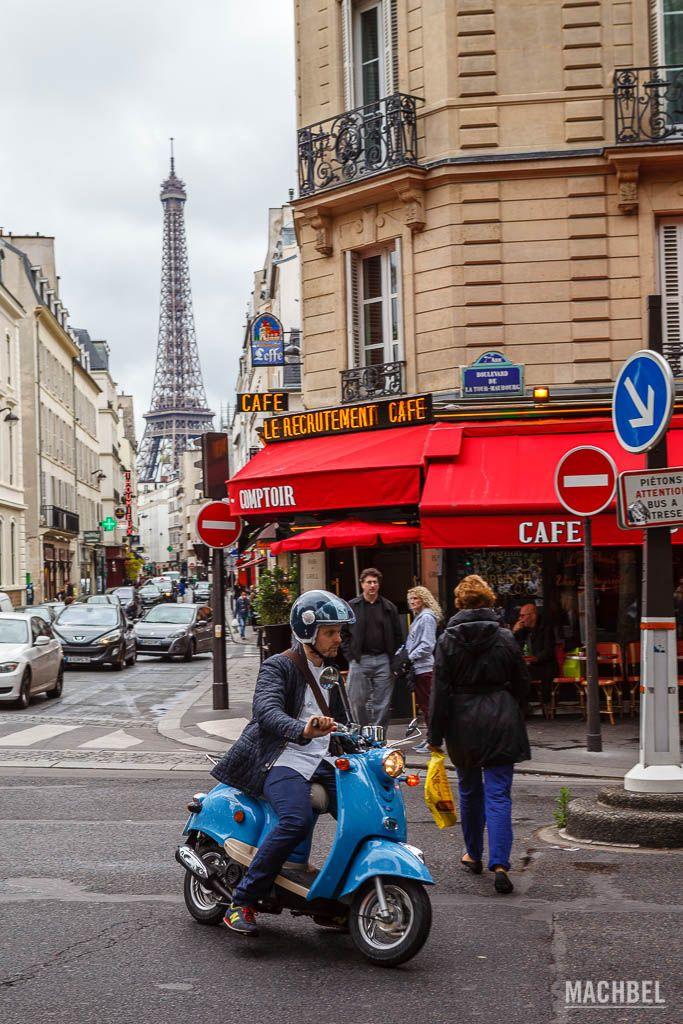 Una calle cualquiera de París