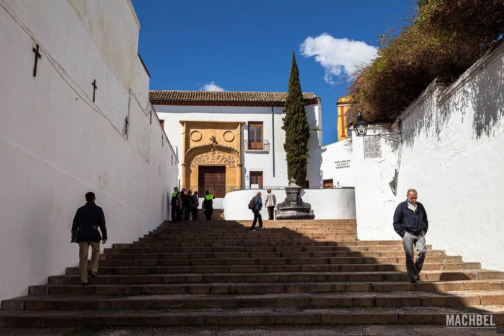 Una calle en el casco histórico de Córdoba