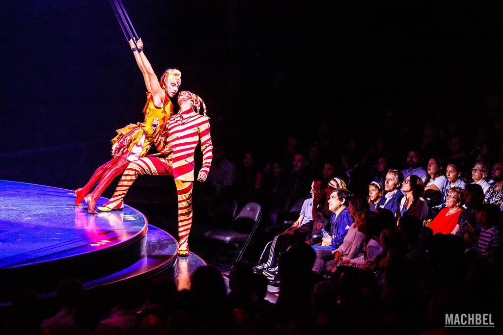Espectáculo Kooza del Circo del Sol