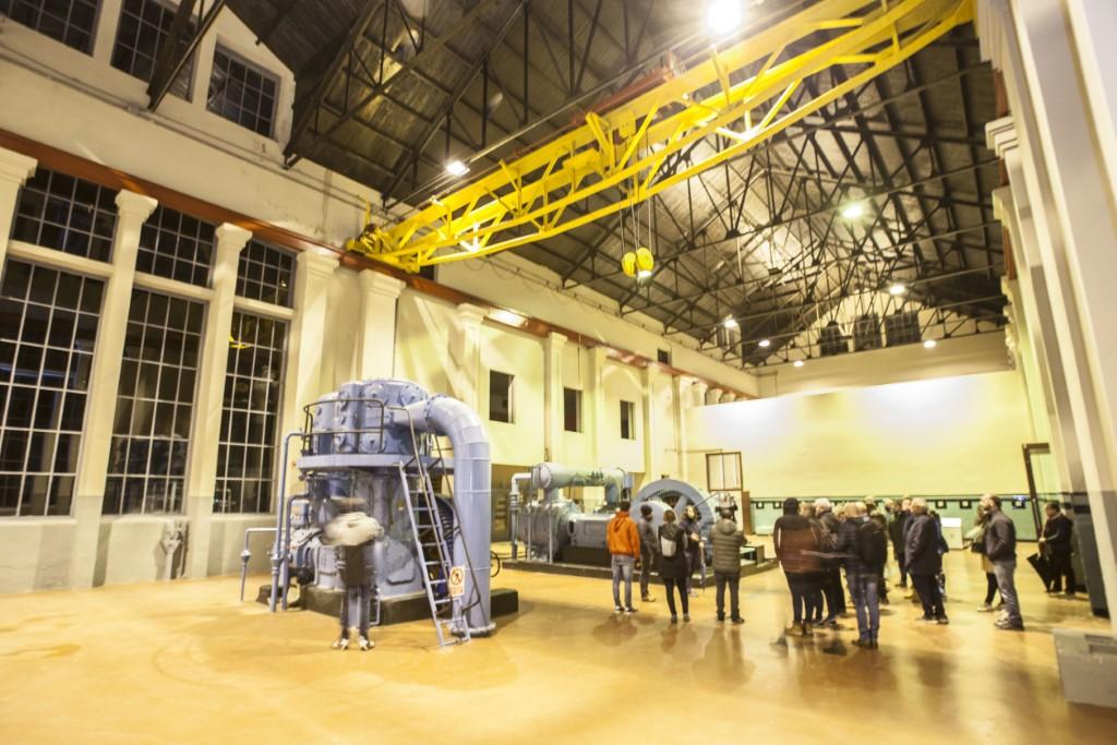 Sala de máquinas del Ecosmuseo de Samuño
